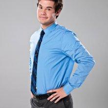 Adam Devine in un'immagine promozionale della serie Workaholics