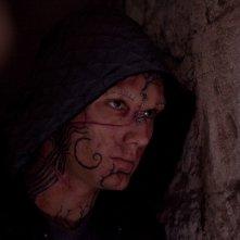 Alex Pettyfer dopo essere stato trasformato da un maleficio nel film Beastly