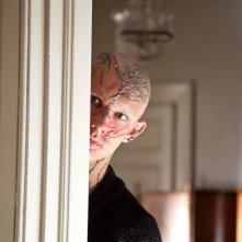 Alex Pettyfer nel film Beastly, dopo essere stato trasformato da una strega