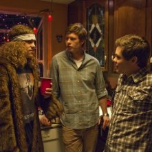 Blake Anderson, Anders Holm ed Adam Devine nella serie Workaholics