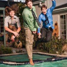 Una foto promozionale del cast della serie Workaholics