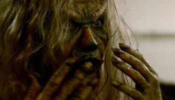 Una scena del film Scream of the Banshee
