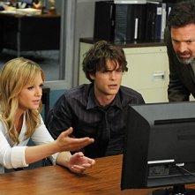 Una scena dell'episodio Morte online, dalla quinta stagione di Criminal Minds