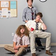 Workaholics: Una foto promozionale del cast della serie