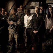 J. Louis, J.W. Smith, P. Gilmore, A. Kalanj, E. Levesque e B. J. Smith in Twin Destinies di Stargate Universe