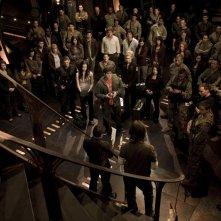 L'equipaggio della Destiny nell'episodio Twin Destinies di Stargate Universe