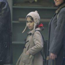 La piccola Alexandrina Kushinchanova nel film Goodbye Mama