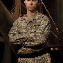 Lou Diamond Phillips in una scena dell'episodio Twin Destinies di Stargate Universe