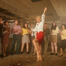 Michelle Bonev in un momento del film Goodbye Mama