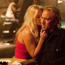 Nicolas Cage e Amber Heard, protagonisti di Drive Angry