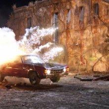Una immagine della Dodge Charger turbo nel film Drive Angry