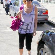 Nicole Richie fuori dalla palestra a Studio City