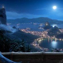 Una immagine del cartoon Rio in 3D