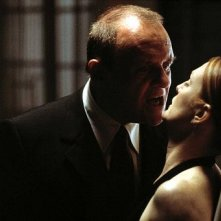 Anthony Hopkins e Julianne Moore in Hannibal