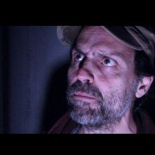 Roberto Cardone nella scena di un film