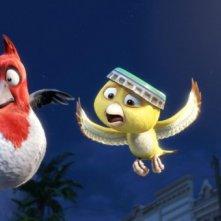 Una immagine del film d'animazione Rio in 3D
