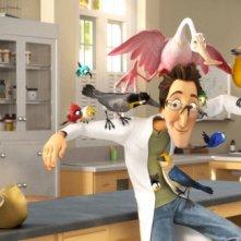 Una immagine del film d'animazione Rio in 3D (2011)