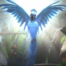 Uno dei pennuti del film d'animazione Rio in 3D