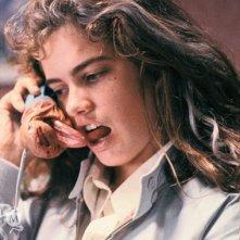 Heather Langenkamp in una scena di Nightmare - Dal profondo della notte
