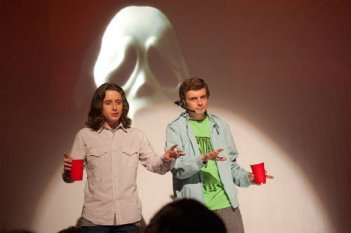 Rory Culkin e Erik Knudsen in Scream 4