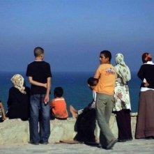 Un'immagine da Tangeri tratta dal film Il colore del vento