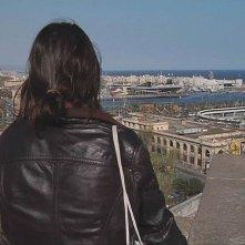 Un'immagine del Porto di Barcellona dal film Il colore del vento