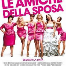 Ecco la locandina italiana de Le amiche della sposa