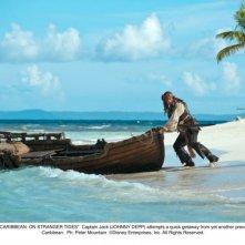Johnny è Jack Sparrow nel quarto Pirati dei Caraibi: Oltre i confini del mare