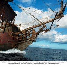 La Queen Anne's Revenge nel film Pirati dei Caraibi 4: Oltre i confini del mare