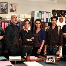 Squadra antimafia - Palermo oggi 3: una foto promozionale del cast