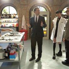 Michael Weatherly, Cote de Pablo, Pauley Perrette e Sean Murray nell'episodio Tell-All di NCIS