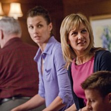 Bridget Moynahan ed Amy Carlson nell'episodio What You See di Blue Bloods