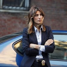 Jennifer Esposito nell'episodio Officer Down di Blue Bloods