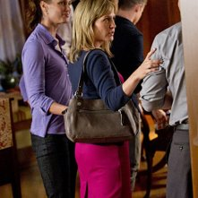Will Estes, Bridget Moynahan ed Amy Carlson nell'episodio What You See di Blue Bloods