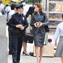 Will Estes e Bridget Moynahan nell'episodio Samaritan di Blue Bloods
