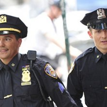Will Estes e Nicholas Turturro nell'episodio Samaritan di Blue Bloods