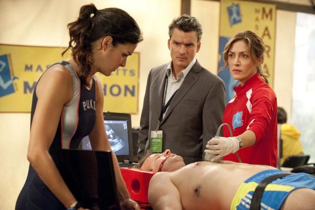 Balthazar Getty Angie Harmon E Sasha Alexander Nell Episodio Born To Run Di Rizzoli Isles 199722
