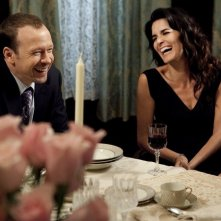 Donnie Wahlberg e Angie Harmon in una scena dell'episodio Sympathy for the Devil di Rizzoli & Isles