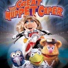 La locandina di Giallo in casa Muppet