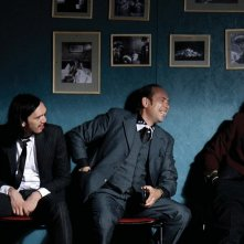 Olivier Gourmet con Bakary Sangarè in Robert Mitchum est mort