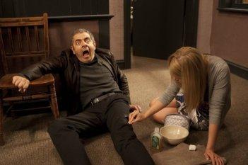 Rowan Atkinson in Johnny English Reborn, nel 2011