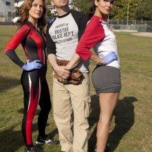 Sasha Alexander, Donnie Wahlberg e Angie Harmon nell'episodio Sympathy for the Devil di Rizzoli & Isles