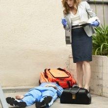 Sasha Alexander nell'episodio She Works Hard for the Money di Rizzoli & Isles