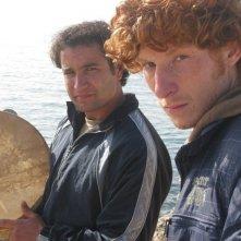 Antonio Ciurca ('Ntoni) e Naceur Ben Hammouda (Alfio) in una scena del film I malavoglia (2010)