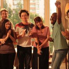 I giovani interpreti del film Mon père est femme de ménage