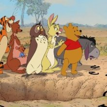 I protagonisti di Winnie the Pooh
