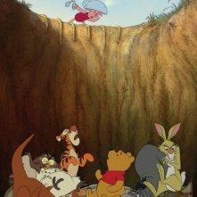 I protagonisti di Winnie the Pooh vittime di un piccolo incidente