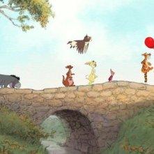 In processione, i simpatici eroi di Winnie the Pooh