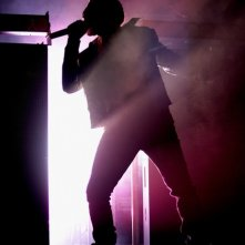 Kanye West durante una performance a Sidney