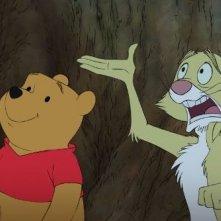 Un'immagine del lungometraggio animato Winnie the Pooh